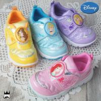 ディズニー プリンセス マジックスニーカー   C1157 女の子 子供靴 キッズ チャイルド   ...