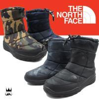 ザ・ノースフェイス THE NORTH FACE ヌプシ ブーティー WP IV カモ     NF...
