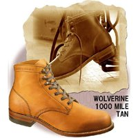 【WOLVERINE ウルヴァリン】  1000MILE(1000マイル)☆ W05848/TAN(...