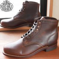 【メンズ ブーツ】  ウルヴァリン☆ 1000マイルブーツ☆ WO5300 ブラック☆ WO5301...