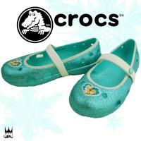 クロックス crocs   200919 女の子 子供靴 キッズ チャイルド フラットシューズ   ...