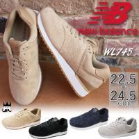 ニューバランス new balance  WL745 レディース スニーカー   ■商品説明 BE(...