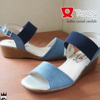 テクシー TEXCY  TL-15890 レディース サンダル ■商品説明 BLUE DENIM(ブ...