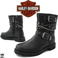 ハーレー ダビッドソン HARLEY-DAVIDSON  D87043 レディース ブーツ   ■商...