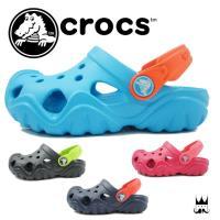クロックス crocs スウィフトウォーター クロッグ k   202607 男の子 女の子 子供靴...