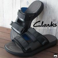 クラークス Clarks  26125798・26125800 メンズ サンダル コンフォートサンダ...