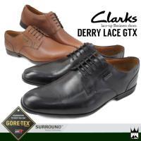 クラークス Clarks   メンズ ビジネスシューズ 本革 レザー 防水 ゴアテックス GORE-...