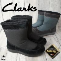 クラークス Clarks  743F レディース ショートブーツ ゴアテックス ウィンターブーツ  ...
