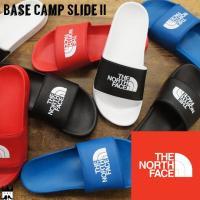 ノースフェイス サンダル Base Camp Slide II TNF Black/ TNF White シューズ レディース