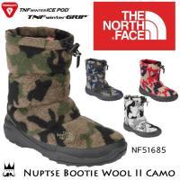 ザ・ノースフェイス NF51685 ヌプシ ブーティー ウール II カモ(ユニセックス)   ■商...