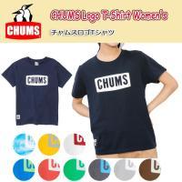 【メール便発送・代引き不可】チャムス chums Tシャツ レディース CHUMS Logo T-S...