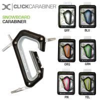 商品名 CLiCKCARABINER/クリックカラビナ/CARABINER SNOWBOARD&lt...