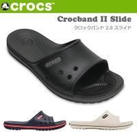 クロックス CROCS サンダル Crocband II Slide クロックバンド 2.0 スライ...