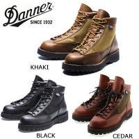 dnn-001【DANNER/ダナー】DANNER LIGHT  ダナーライト3 BLACK/KHA...