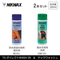 NIKWAX NIKWAX LoftテックウォッシュTECH WASH EBE181+ TX.ダイレ...