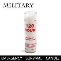 MILITARY/ミリタリー EMERGENCY SURVIVAL CANDLE  【LITE】 キャンドル ろうそく 防炎グッズ 停電 長時間燃焼