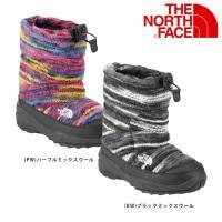 ノースフェイス ヌプシ THE NORTH FACE ブーツ キッズ ユースヌプシブーティーウールラ...