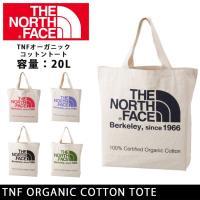 ノースフェイス THE NORTH FACE トートバック TNFオーガニックコットントート TNF...