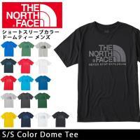 ノースフェイス THE NORTH FACE Tシャツ ショートスリーブカラードームティー(メンズ)...