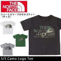 ノースフェイス THE NORTH FACE Tシャツ ショートスリーブカモロゴティー(キッズ) S...