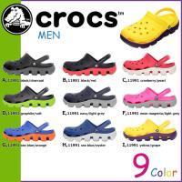 商品説明  【多種多彩なラインナップが魅力の「crocs」!!】 ・柔らかいフットベッドとアッパーに...