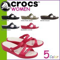 商品説明  【多種多彩なラインナップが魅力の「crocs」!!】 ・夏のベストフレンド、パトリシア。...