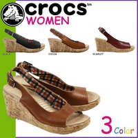 商品説明  【多種多彩なラインナップが魅力の「crocs」!!】 ・アッパーにレザー素材を、サイドに...