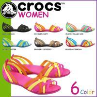 """商品説明  【多種多彩なラインナップが魅力の「crocs」!!】 ・メキシコの手編みサンダル""""ワラチ..."""