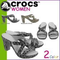 商品説明  【多種多彩なラインナップが魅力の「crocs」!!】 ・サポート性とフェミニンなデザイン...