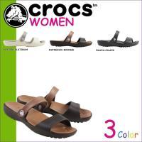 商品説明  【多種多彩なラインナップが魅力の「crocs」!!】 ・気軽にはけるオープンヒールのサン...