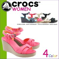 商品説明  【多種多彩なラインナップが魅力の「crocs」!!】 ・アッパーにキャンバス素材をラッピ...