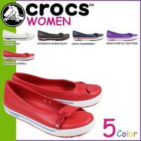 商品説明  【多種多彩なラインナップが魅力の「crocs」!!】 ・大人気のクロックバンド フラット...