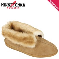 ミネトンカ MINNETONKA シープスキン アンクル ブーツ SHEEPSKIN ANKLE BOOT レディース 3451 ゴールデンタン