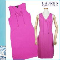 【発色のいいピンクがキュートな魅力のワンピ】・人気の編み込みをフロントにデザイン・ゴールドのリングが...
