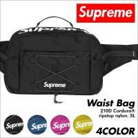 シュプリーム ウエストバッグ Supreme メンズ レディース ボディバッグ 5L 210D CORDURA RIPSTOP NYLON WAIST BAG [5/9 追加入荷]
