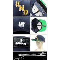 アンディフィーテッド UNDEFEATED スナップバック キャップ メンズ 3カラー STAR CAP