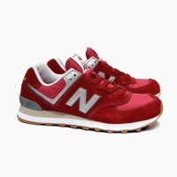NEW BALANCE ニューバランス  ML574 RED/GRAY ML574HRT  ニューバ...