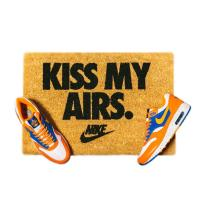 NIKE x OVERKILL KISS MY AIRS DOORMAT BROWN/BLACK