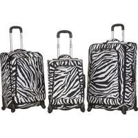 ユニセックス 鞄 リュック Rockland Fusion 3 Piece Luggage Set F180