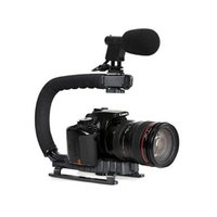 最大荷重: 5キロ  仕様:DSLRカメラ用スタビライザーハンドル  素材:ABS樹脂  本体重量:...