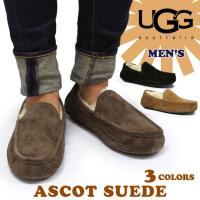 UGG Australiaからシンプルなデザインが特徴のAscot(アスコット)★外側の上質な天然皮...