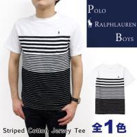 POLO Ralph LaurenからボーダーTシャツが登場!!シンプルな形のTシャツに上から下へと...