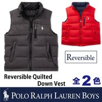 POLO Ralph Lauren BOYSから『REVERSIBLE QUILTED DOWN V...