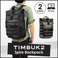 TIMBUK2より『SPIRE BACKPACK』が登場。大口のメインポケットはマジックテープとフッ...