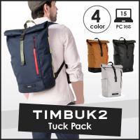 TIMBUK2より『TUCK BACKPACK』が登場。メインポケットはロールトップになっており、大...