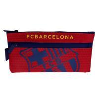 スペイン・リーガエスパニョーラ、FCバルセロナのオフィシャルグッズ。クラブロゴがデザインされたペンケ...