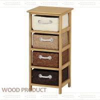 様々なライフスタイルに寄り添う木製家具シリーズ♪ ランドリーまわりをナチュラルに演出する収納チェスト...