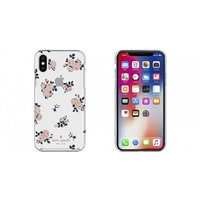 c29ab5f491 ケイトスペード kate spade iPhone XS iPhone X ケース kate spade new york Protective  Hardshell HAPPY