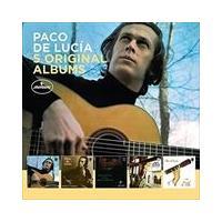 5 ORIGINAL ALBUMS (LTD) / PACO DE LUCIA パコ・デ・ルシア(輸入盤) (5CD) 0600753797907-JPT softya