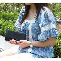アミティエ AMT-703 レディース長財布 / ブラック (HY) softya 03